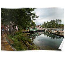 Telegraph Cove, Vancouver Island Poster