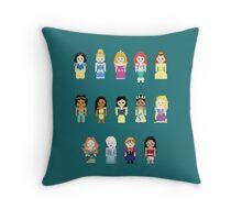 Princesses Throw Pillow