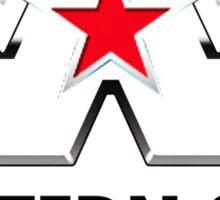 New Western Star Trucks Logo Men's Black T-Shirt Sticker