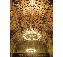 Cardiff Castle Lighting Photographic Print