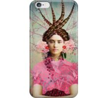 Portrait in Pastell iPhone Case/Skin