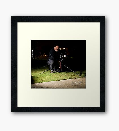 The man behind the 7D Framed Print
