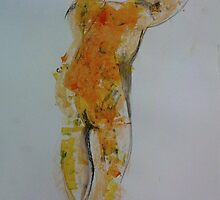Life drawing 3. by India Kowbas