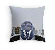 You DON'T want this in your Rear View Mirror Throw Pillow