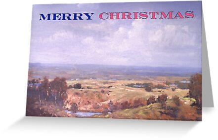 Merry Christmas Logan River  by Lyn Green