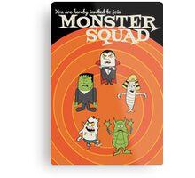 Monster Squad Metal Print