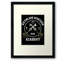 Keyblade Masters Academy Framed Print