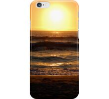 sunset in cape town iPhone Case/Skin