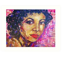Dorothy Dandridge Portrait Painting Art Print