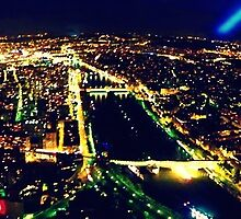 Night view of Paris by rc2061988