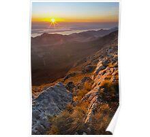 Sunset at Viserujno Poster