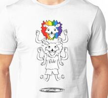 Gay Pride Of Lions Unisex T-Shirt