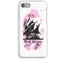 Boat Person iPhone Case/Skin