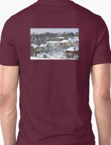 The Morning after a Big Snowstorm in Toronto, ON, Canada Unisex T-Shirt