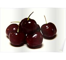 Tis the season to eat cherries Poster