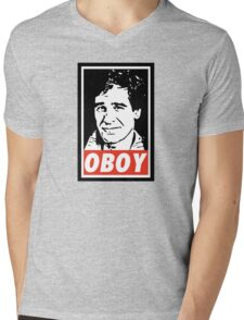 Obeying the Quantum Leap Mens V-Neck T-Shirt