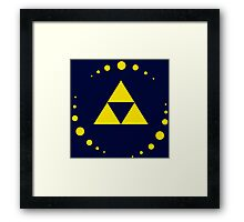 Triforce - Zelda Framed Print