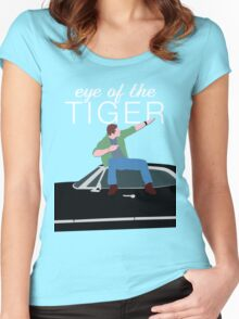 Supernatural - Eye of the Tiger Women's Fitted Scoop T-Shirt