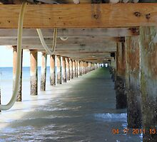 Under The Boardwalk... by Cindy Rogers
