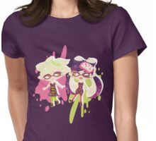 Callie and Marie - Stay Fresh Womens Fitted T-Shirt