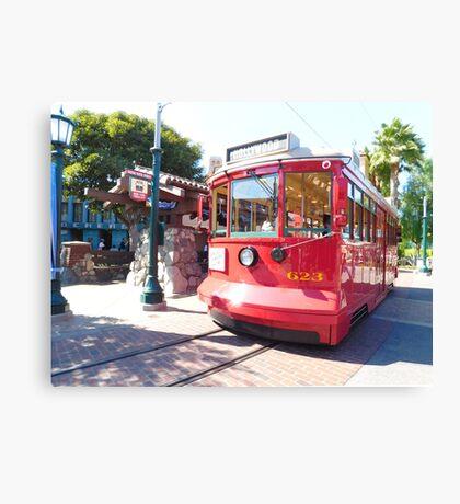 trolley travels Canvas Print