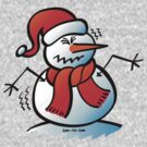 Shivering Snowman by Zoo-co