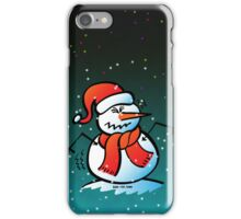 Shivering Snowman iPhone Case/Skin