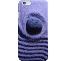 Purple zen iPhone case iPhone Case/Skin