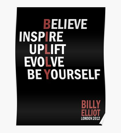 Billy Elliot The Musical Live Logo  Poster