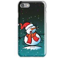 Sneezing Snowman iPhone Case/Skin
