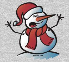 Snowman Shouting Kids Clothes
