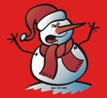 Snowman Shouting T-Shirt