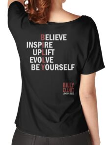 Billy Elliot The Musical Live Logo  Women's Relaxed Fit T-Shirt
