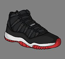 Shoes Breds (Kicks) by Pancho The Macho