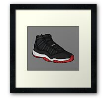 Shoes Breds (Kicks) Framed Print