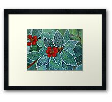 Christmas card 5 Framed Print