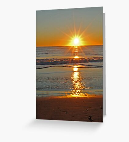 (Another) Salvo Sunrise Greeting Card