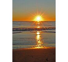 (Another) Salvo Sunrise Photographic Print