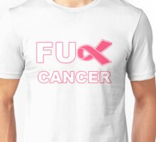 Fu** Cancer - Pink Unisex T-Shirt