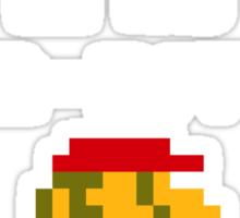 It was 8-Bit back in my day! - Mario (Reversed) Sticker