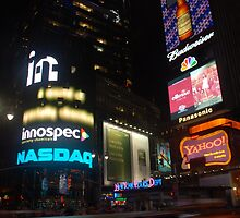 New York Times Square by harpo79