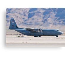 RS AF 07 8614 C-130J Super Hercules Landing  Canvas Print