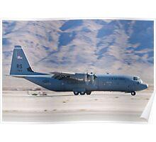 RS AF 07 8614 C-130J Super Hercules Landing  Poster