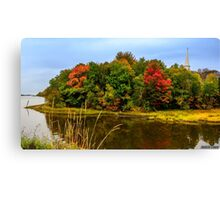 Autumn in Mabou Canvas Print