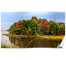 Autumn in Mabou Poster