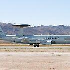 E-3A Sentry OK AF 75 0560 Landing by Henry Plumley