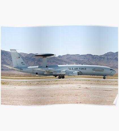 E-3A Sentry OK AF 75 0560 Landing Poster