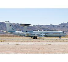 E-3A Sentry OK AF 75 0560 Landing Photographic Print
