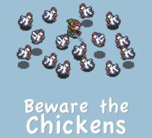 Zelda - Beware the Chickens by thehookshot