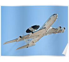 OK 83 0009 E-3A Sentry AWACS Poster